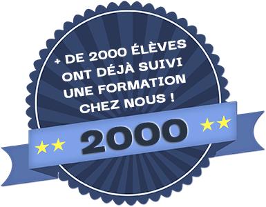 2000 élèves