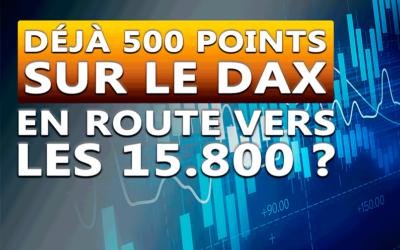 Déjà 500 points sur le marché du Dax